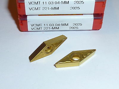 Vcmt 221 Mm 2025 Sandvik 10 Inserts Factory Pack
