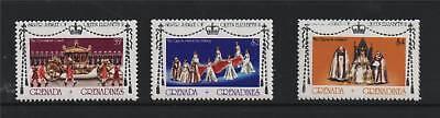 Gren.Grenada 1977 Silver Jubilee P.13½ SG 215/7 MNH