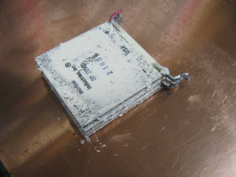 QTY 5  Marlow USA Thermoelectric Peltier 40mm Epoxy