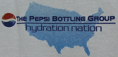 CLEANING OUT MY CLOSET! BRAND NEW ADVERTISING PEPSI BOTTLING GROUP LARGE
