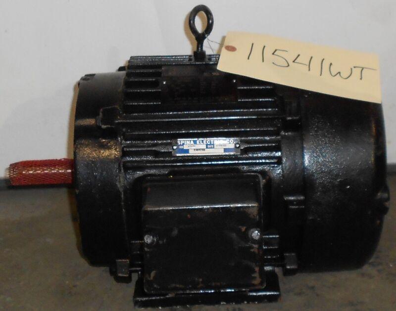 Reman - Lincoln Motors 5 HP Electric Motor 3530 RPM 11541WT