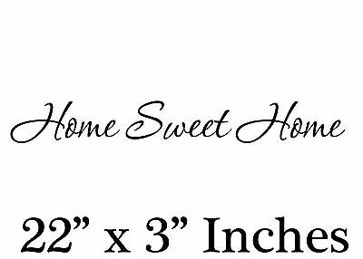 ote ... Removable Vinyl wall art decal decor family (Home Sweet Home Decor)