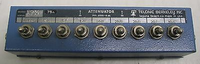 Telonic Toggle Switch Attenuator Tg-975b  Nice