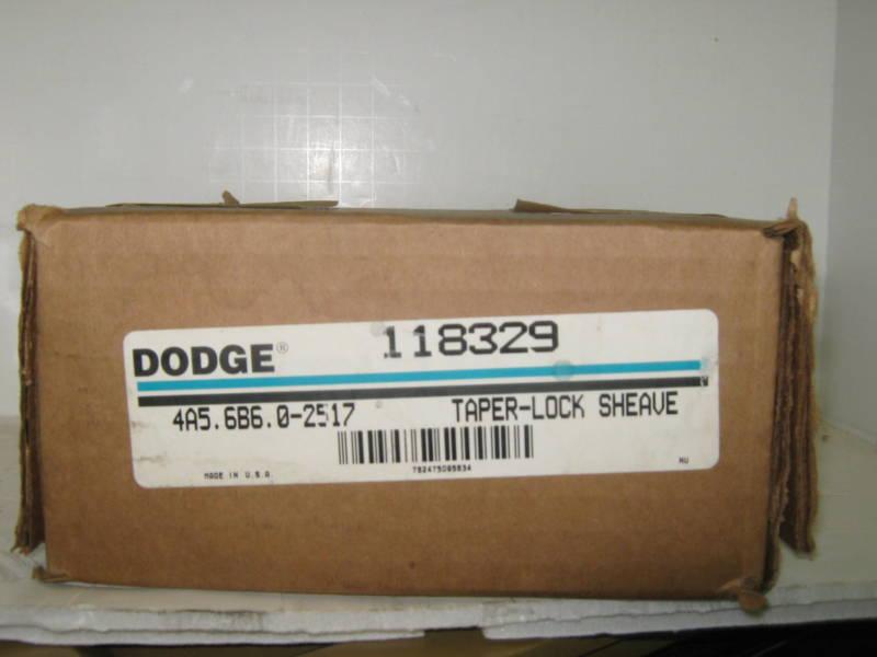 DODGE TAPER LOCK SHEAVE PART #118329
