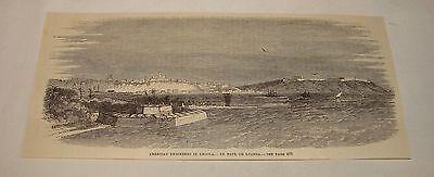 1887 magazine engraving ~ ST PAUL DE LOANDA, Angola