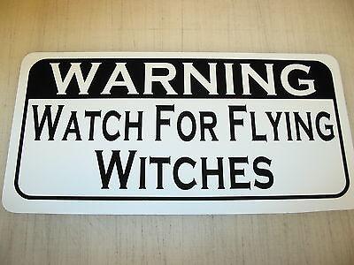 WITCHES Metal Sign 4 Wiccan Wicca Wizard Warlock Halloween (Watch Halloween 4)