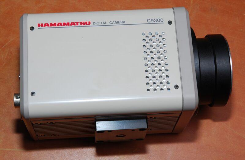 Hamamatsu C9300-124 10-megapixel High Resolution Digital Ccd Camera