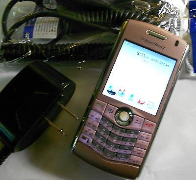 GOOD BlackBerry Pearl 8130 PINK Camera Video CDMA Bluetooth VERIZON Phone