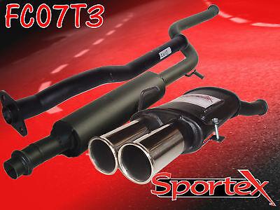 Sportex Citroen Saxo performance exhaust system 2000-2003