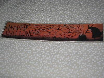 Happy Halloween Bookmarks (PRIMITIVE SKINNY HAPPY HALLOWEEN LAMINATED BOOK)