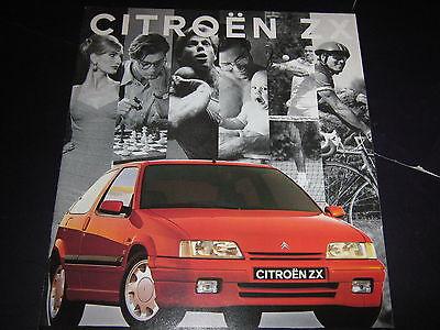 Citroen ZX brochure