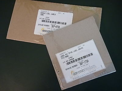 Cd Dvd Disk And Box Spine Labels 200 Each