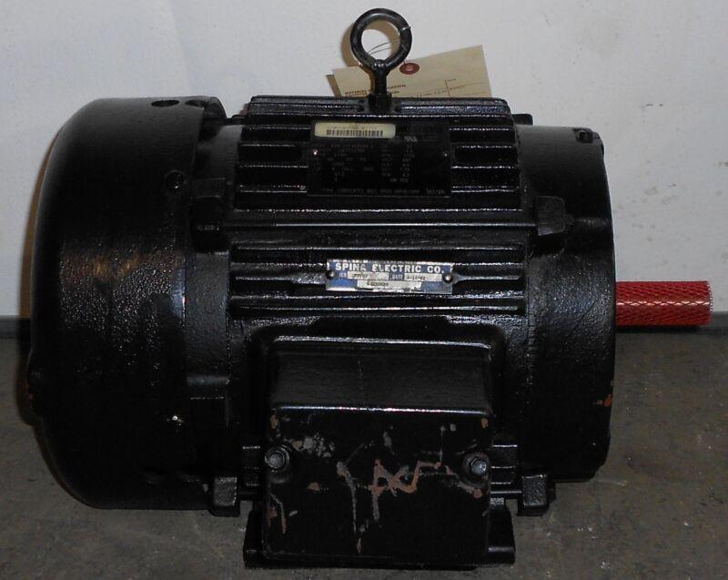 SLS1B12 Reman - Lincoln Motors 3 HP Electric Motor 1760 RPM  #11533WT