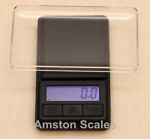 500 x 0.1 GRAM DIGITAL POCKET SCALE CARAT GRAIN TROY OUNCE PENNYWEIGHT GOLD GEM