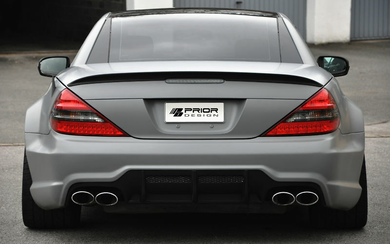 Mercedes Sl R230 Widebody Wide Body Kit Sl55 Sl63 Sl600 Facelift Conversion Sl65