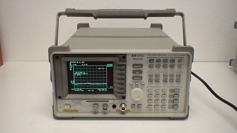 Agilent 8595e Spectrum Analyzer W/opt 4, 41, 51, 105, 151, + 160