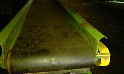 24x14 Belt Conveyor W Gearhead Motor