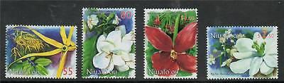 Niuafo'ou 1999 Fragrant Flowers SG 289/92 MNH