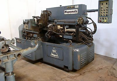 Miyanomatic Camless Automatic Turret Lathe W Bar Feed