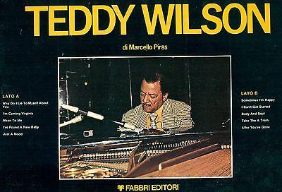 "TEDDY WILSON - I GRANDI DEL JAZZ 12"" LP FOC (L8062)"