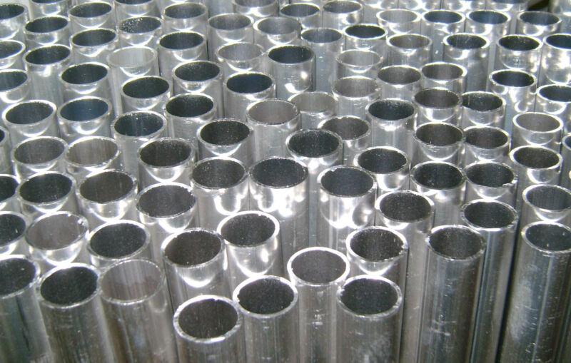 "Aluminum Round Tubing - 7/8"" OD x .050"" x 48"" Long NEW"
