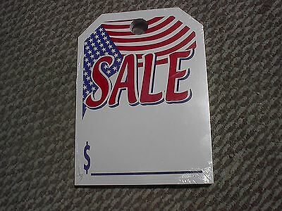 +Free Shipping CAR DEALER 50 REAR VIEW HANGING MIRROR CARDS American Flag ~ SALE