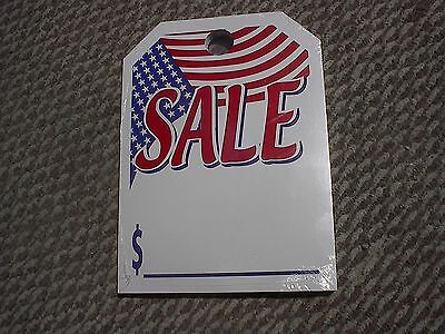 ~Free Shipping CAR DEALER 300 REAR VIEW HANGING MIRROR TAGS American Flag ~ SALE