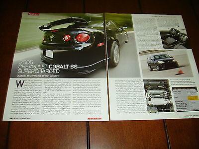 2005 CHEVROLET COBALT SS SUPERCHARGED  ***ORIGINAL (Chevrolet 2005 Cobalt Ss Supercharged)