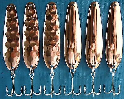 """12 Diamond Nickel Plated 2 1//4/"""" Flutter Spoon Blanks  Walleye Candy .025 Brass"""