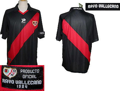 RAYO VALLECANO 2010/2011 ALTERNATIVE SHIRT SIZE 16 NEW WITH TAGS RIVER PLATE S/S image