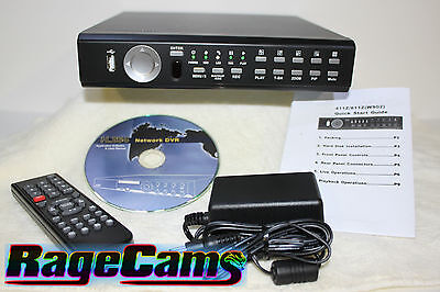 4-kamera Digital Video Recorder (12V Dc DVR 4 Kamera Digital Video Motion Recorder 160GB)