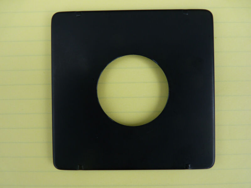 4x5 Pacemaker Crown Speed Graphic lens board,for 203mm/f7.7 Ektar, Supermatic