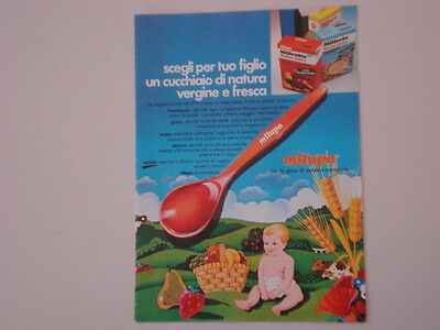 advertising Pubblicità 1978 MILUPA