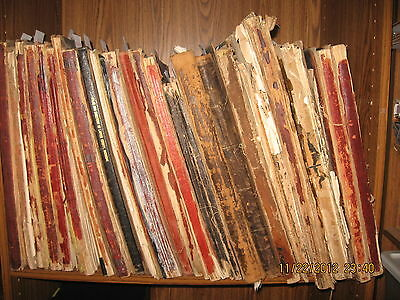 HUGE MICHIGAN MAP COLLECTION, 500 Plus Large Antique Maps 1860 to 1920