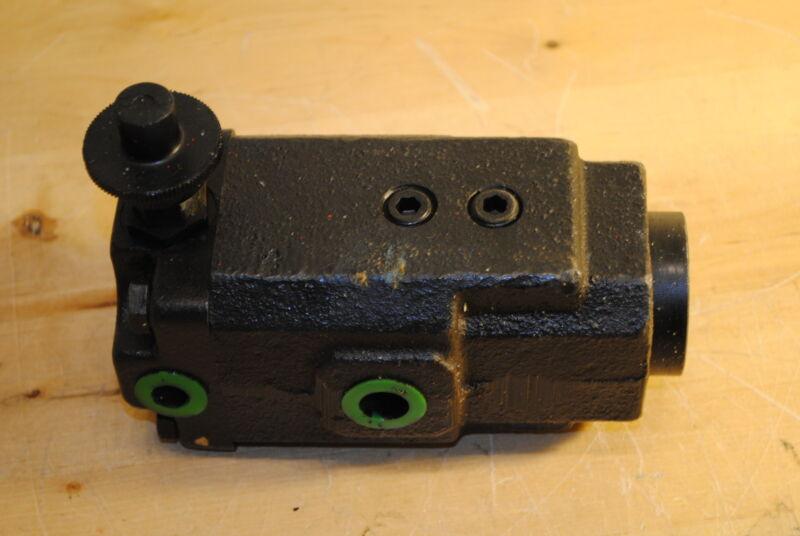 Parker PRC3PM 12HM Hydraulic Pressure Reducing Valve