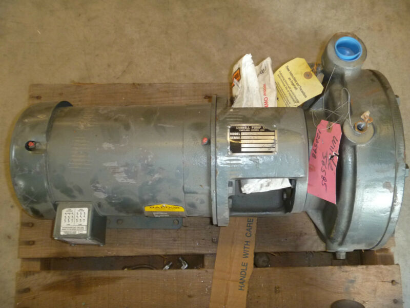 Cornell Pump Co. Model 1.25Y-CC-5-2 w/ Baldor 5hp Motor NEW