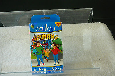 PRESCHOOL CAILLOU 50 COUNTING FLASH CARDS