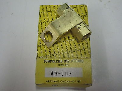 Western Enterprises Brass Compressed Gas Fitting Adapter  Aw 107