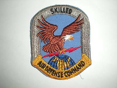 USAF AIR DEFENSE COMMAND SKILLED PATCH -COLOR