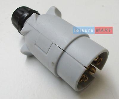 12S 7 pin plastic plug caravan plug 12 volt