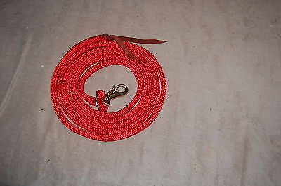 14' RED TRAINING YACHT ROPE LEAD FITS PARELLI METHOD