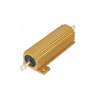 1pcs 0.5 Ohm 0.5r 100w Watt Power Metal Shell Case Wirewound Resistor 5