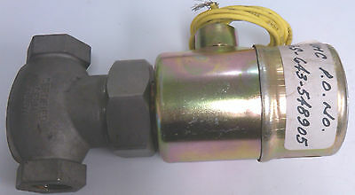 Jd Gould Company Gould Valve 12 Type Kx Nitric Acid Solenoid Valve