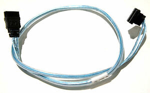 Amphenol Ultra Low Profile Right Angle to Straight SATA 2 Cable 45cm ~ 48 cm