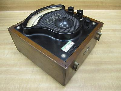 General Electric 3512526 Vintage Industrial Amp Meter Wo Lid Antique