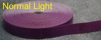 50-yard Purple gloss sew on REFLECTIVE TAPE PVC 1