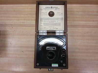 General Electric 3536251 Antique Ac Amp Meter Vintage Industrial