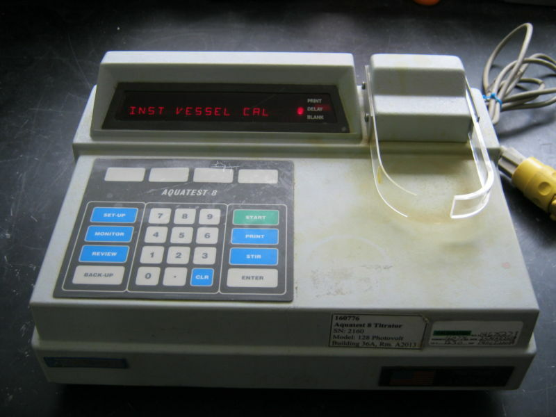 PHOTOVOLT MODEL 128 AQUATEST 8 TITRATOR