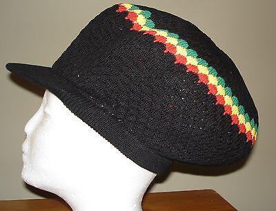 Rasta Dreads Hat (RASTA REGGAE JAMAICAN Hat Caps Dreads New Jamaica Beanie Custom Brand Hip)