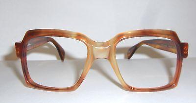 Original VINTAGE Color Specs Mod.6317  HAND MADE Tortoise Square Rx able Frames (Spectacles Singapore)
